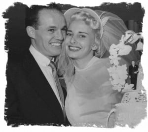 Jimmy and Jani Fellows on January 14, 1951