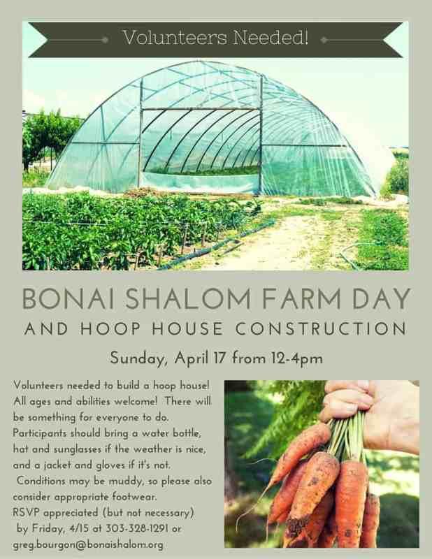 Bonai shalom farm day