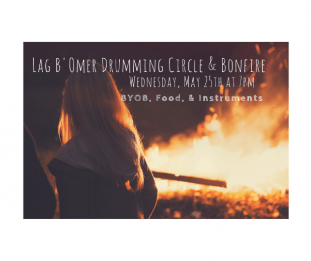 Lag B'Omer Drumming Circle & Bonfire