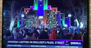 Annual Lighting of Boulder County's Largest Menorah on Pearl Street Mall on Night 2