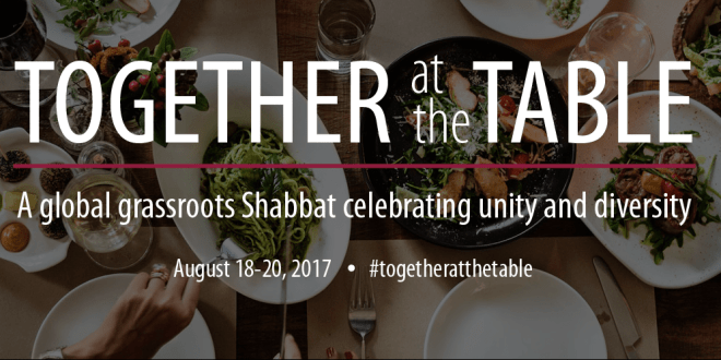 Together at the Table: Celebrate Unity and Diversity This Shabbat