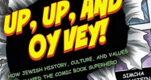 Comic Book Rabbi Comes to Town – Events for Teens and Adults