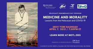 Holocaust Remembrance Day – Dr. Fauci Being Honored, Miri Ben Ari Performs – Watch Live April 7