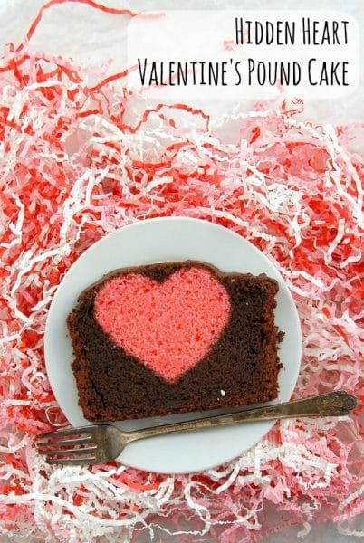 I Heart My Pound Cake   Edible Crafts