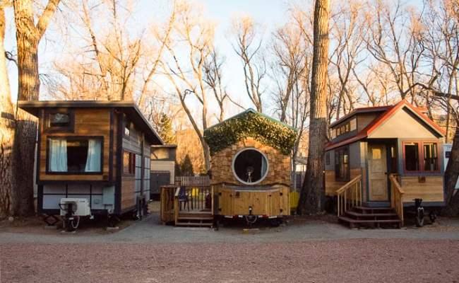 The Hobbit House A Tiny House Resort Vacation Lyons Co