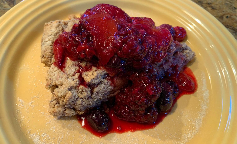 berry scone