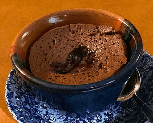 Flourless Chocolate Lava Cake