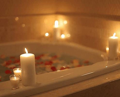 bathtub candles