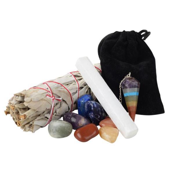 Seven Chakra Smudge Kit