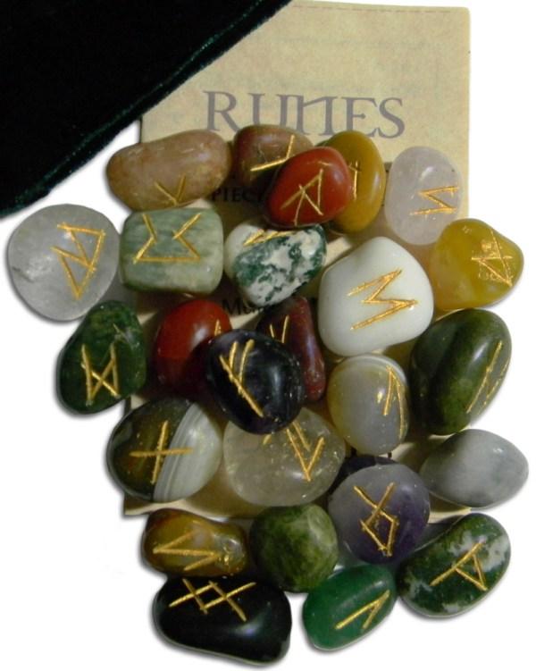 Multi-Stone Agate Gemstone Runes