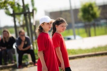 Les jeunes féminines en action !