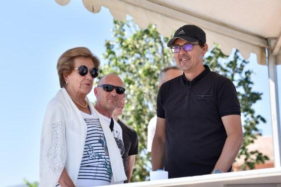 Finale du National 2018 avec Mme le maire, AM Natali.