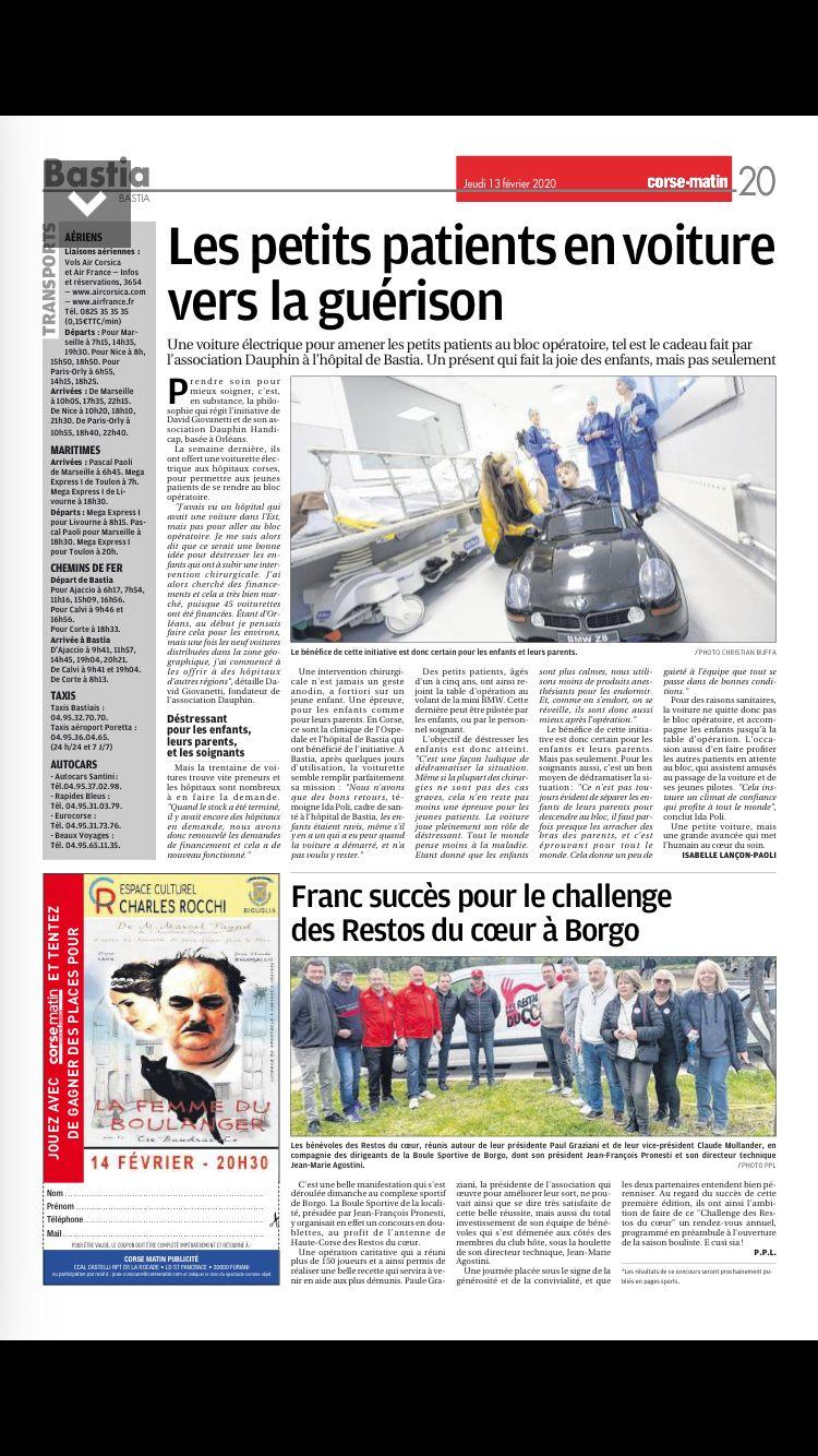3ème édition du National à pétanque César Luiggi de la Ville de Borgo