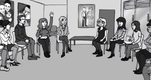 Catherine Hervais, la psy-philosophe ou comment je m'en suis sortie grâce à la thérapie de groupe