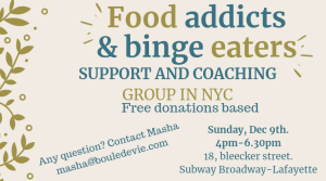 bulimia, anorexia, eating disorders, eating disorders recovery, addiction, food addiction, food addicts, recovery warriors