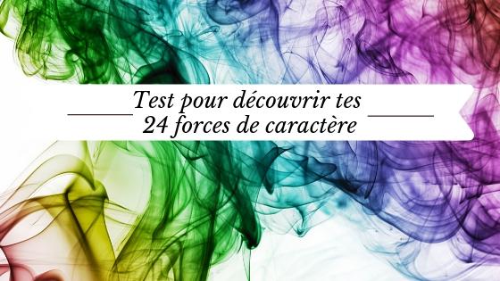 test 24 forces de caractère Via