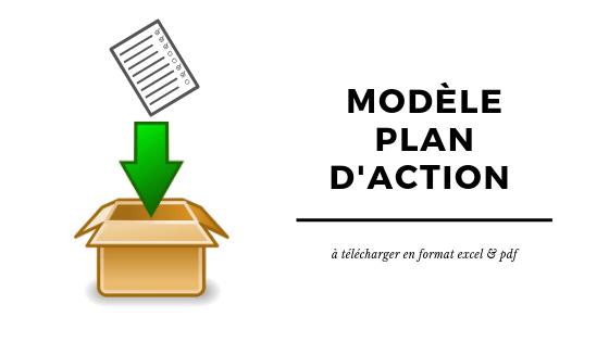Modèle Plan D Action à Télécharger Boulevard Du Succès