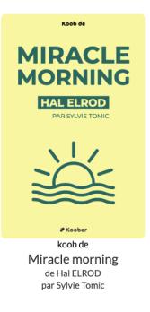 lire un livre par jour en 20 min miracle morning koober