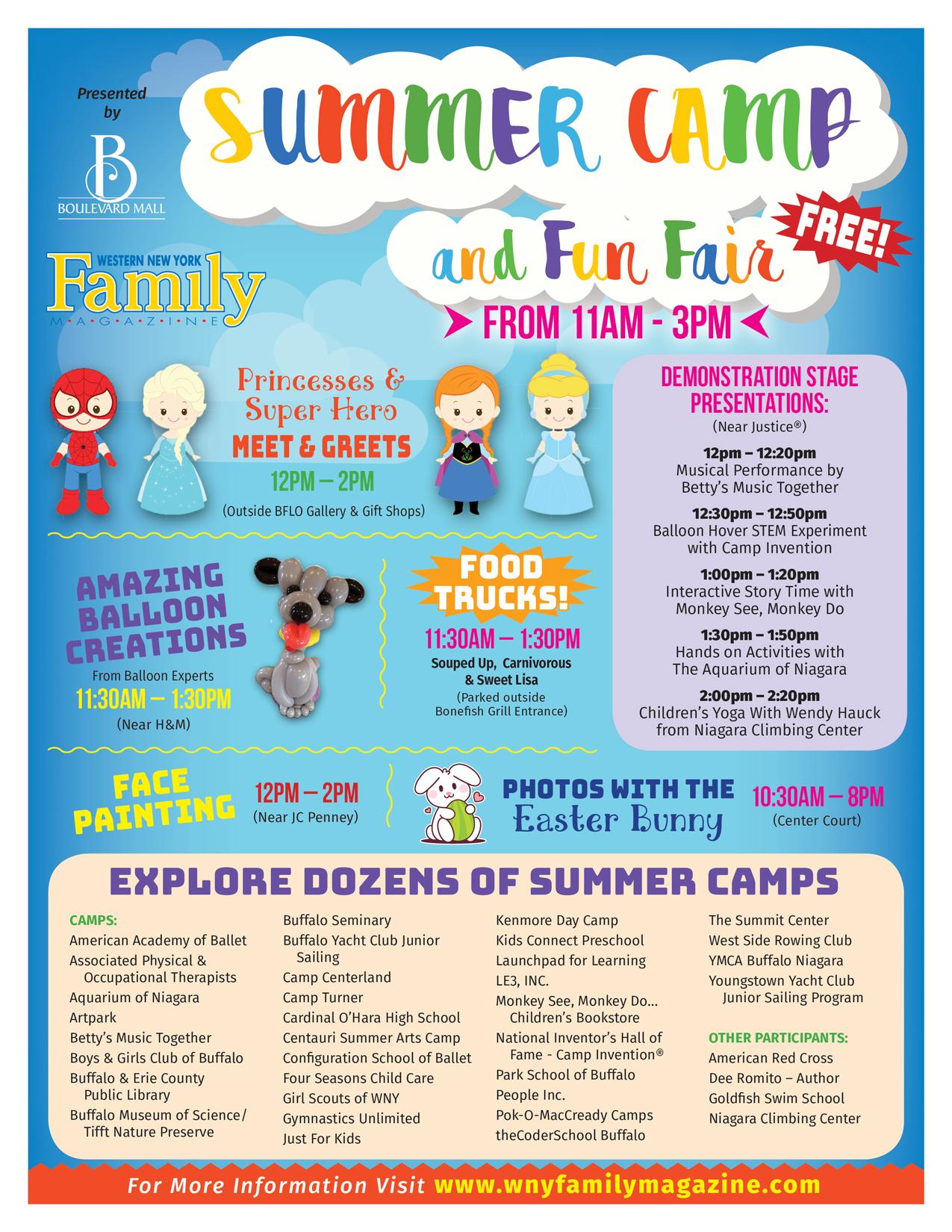 Summer Camp And Fun Fair
