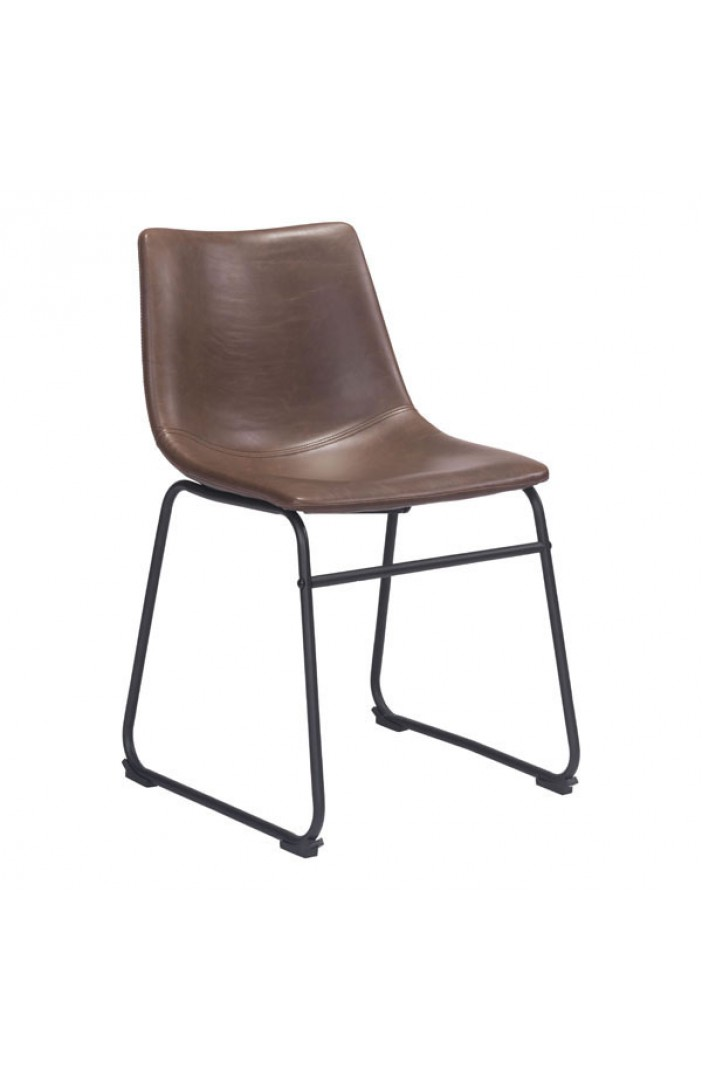 eames leather chair dining wood long smart vintage espresso boulevard urban living