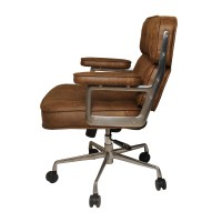 Brown Fabric Desk Chair. fabric desk chair with arms
