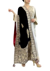 Buy Blue Velvet Shawl Accessories of Dareaab Online at ...