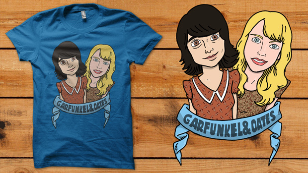 Garfunkel and Oates, por Bouman