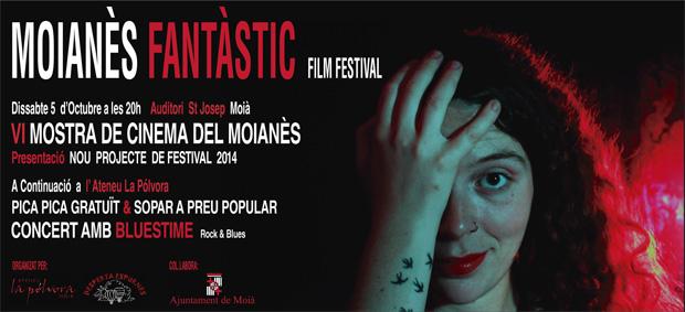 Cartel de la VI mostra de cinema del moianès