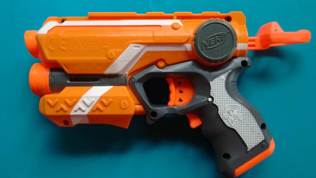 Lazer Sight Nerf Gun