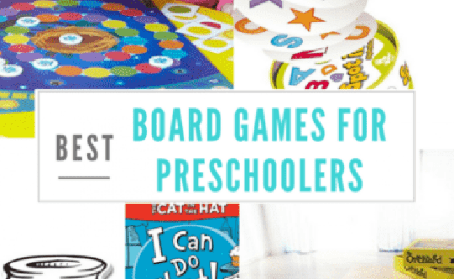 Board Games For Preschoolers Games 3 4 And 5 Year Olds