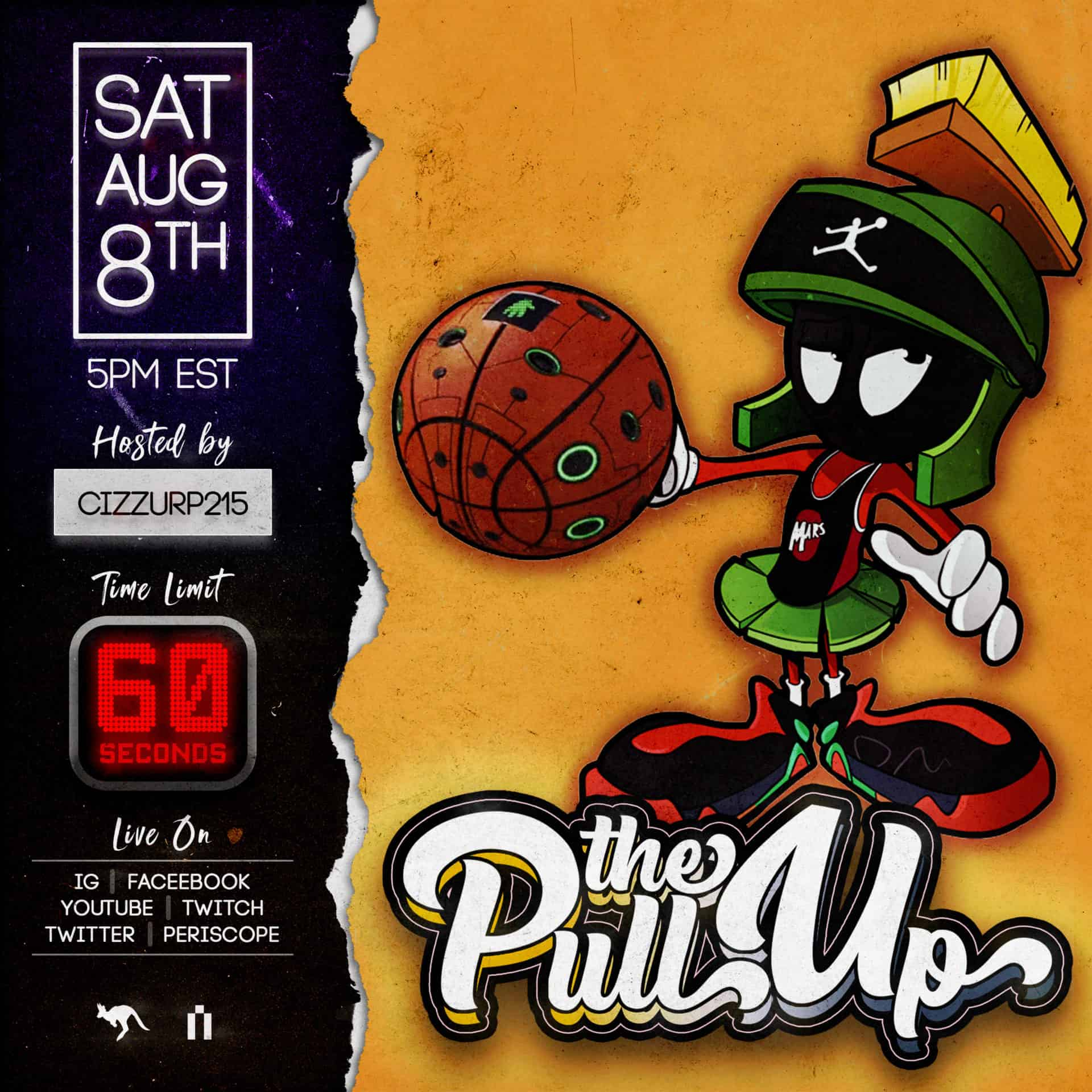 The Pull Up 19 Flyer