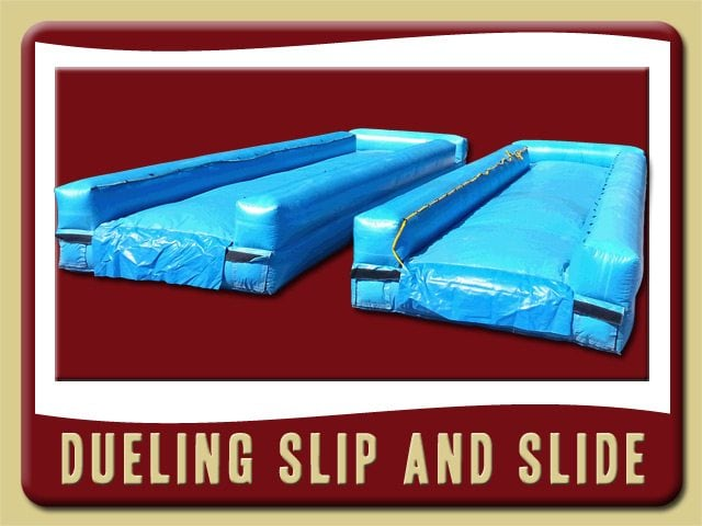 Dueling Slip n Slides Inflatable Rental Palm Coast