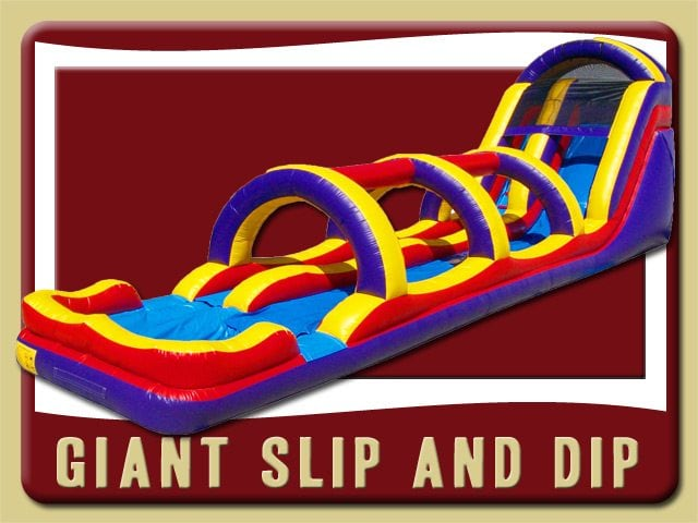 Giant Slip and Slide Water inflatable Rental Deland