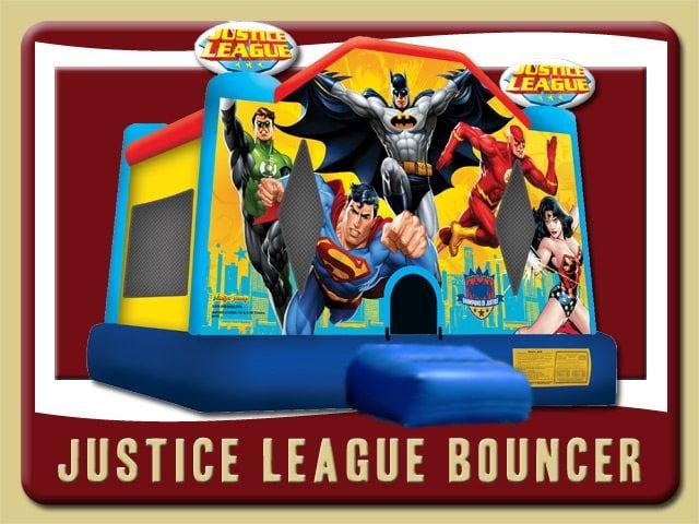 Justice League Bounce House Rental Palm Coast