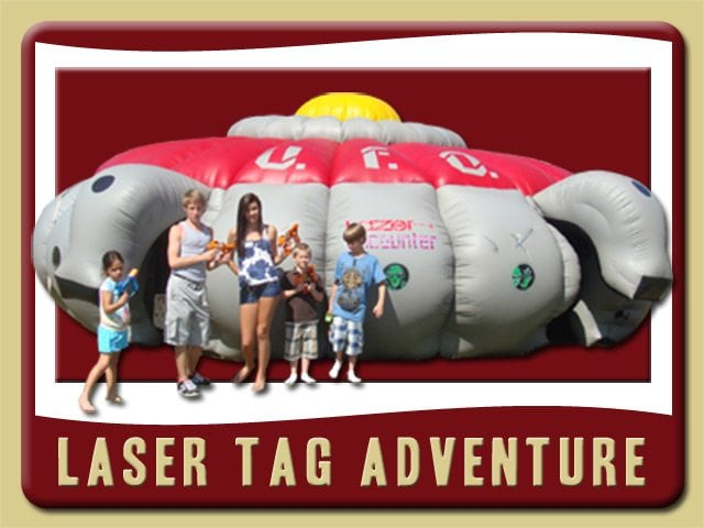 Laser Tag Inflatable Rental New Smyrna Beach