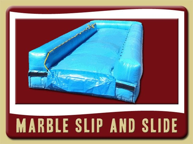 Marble Slip and Slide Blow Up Birthday Party Rent Deland