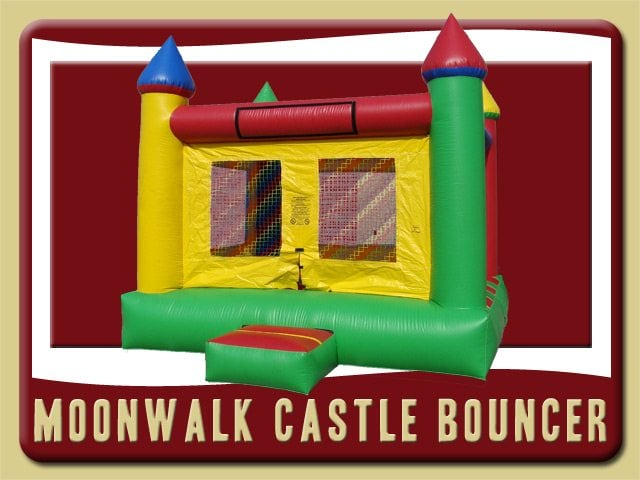 Moonwalk Castle Inflatable Rental Deltona