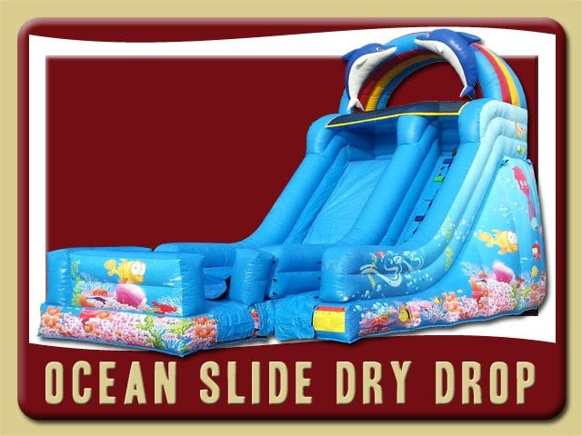 Ocean Dry Drop Inflatable Party Rental Lake Helen