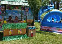 Ocean Water Slide Slip drop Birthday Party Rental Ormond Beach