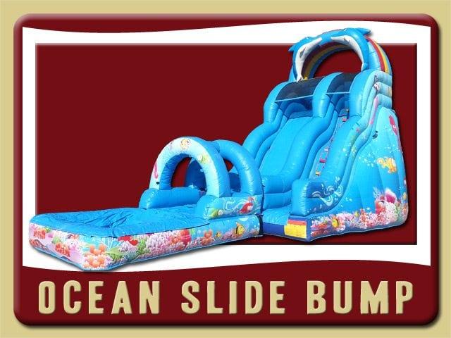 Ocean Slide Bump Water Pool Bump 7 Rental Orange City