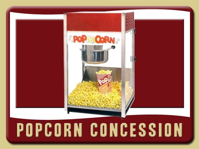 Pop Corn Concession Rental De Leon Springs