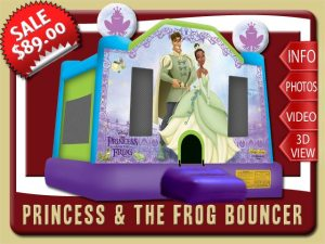 Princess and the Frog Bounce House Rental,