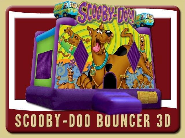 Scooby-Doo Bounce House Party Rental Deland purple
