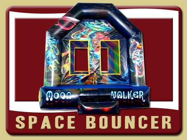 Space Alien Bounce House Inflatable Rental Palm Coast