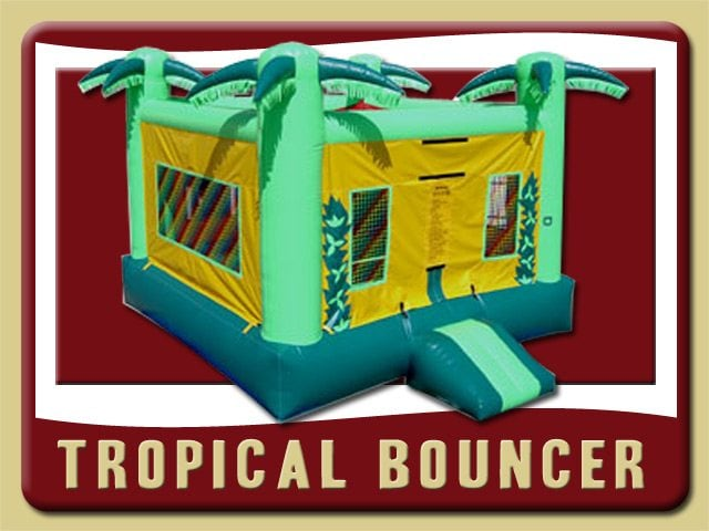 Tropical Bounce House Inflatable Rental Lake Helen