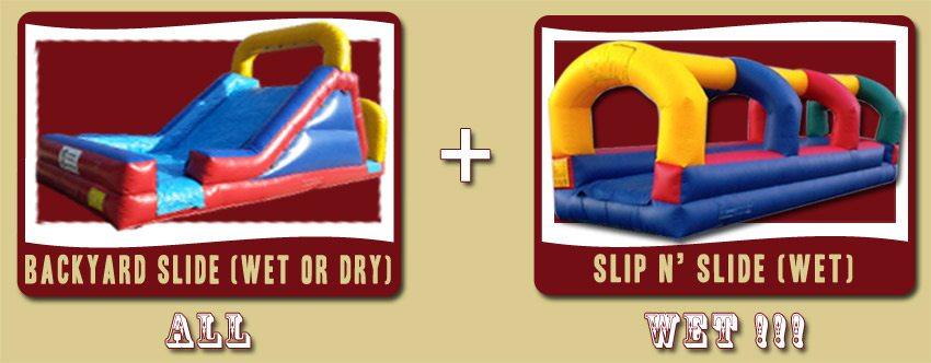 water slide deal