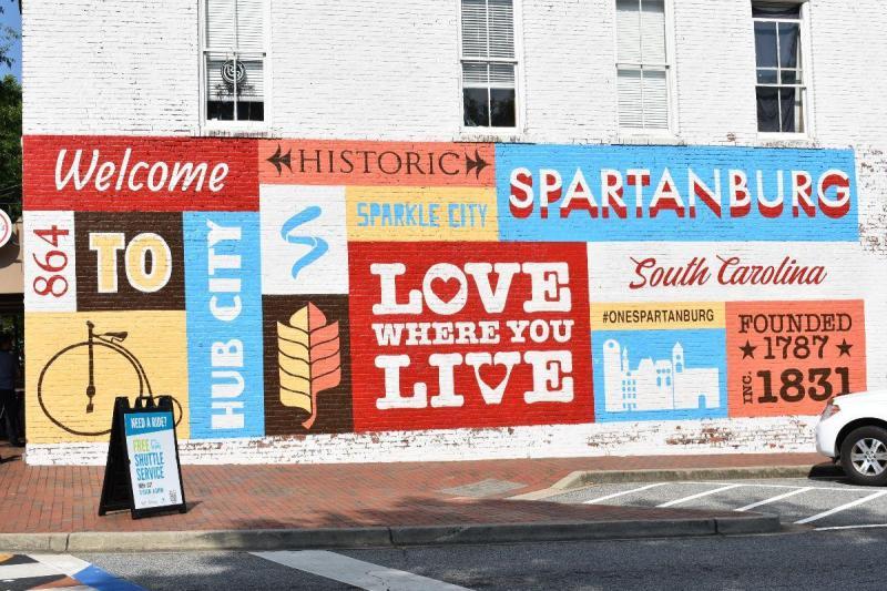 Love Where You Live Mural