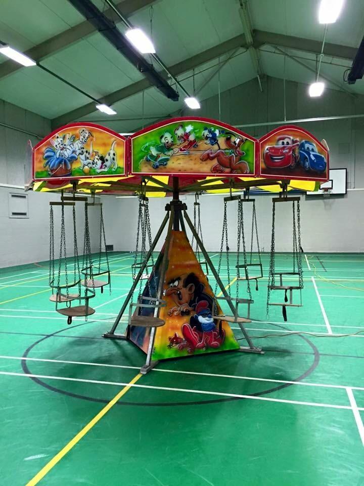 Chair O Planes Ride  Bouncy Castle Hire Fairground