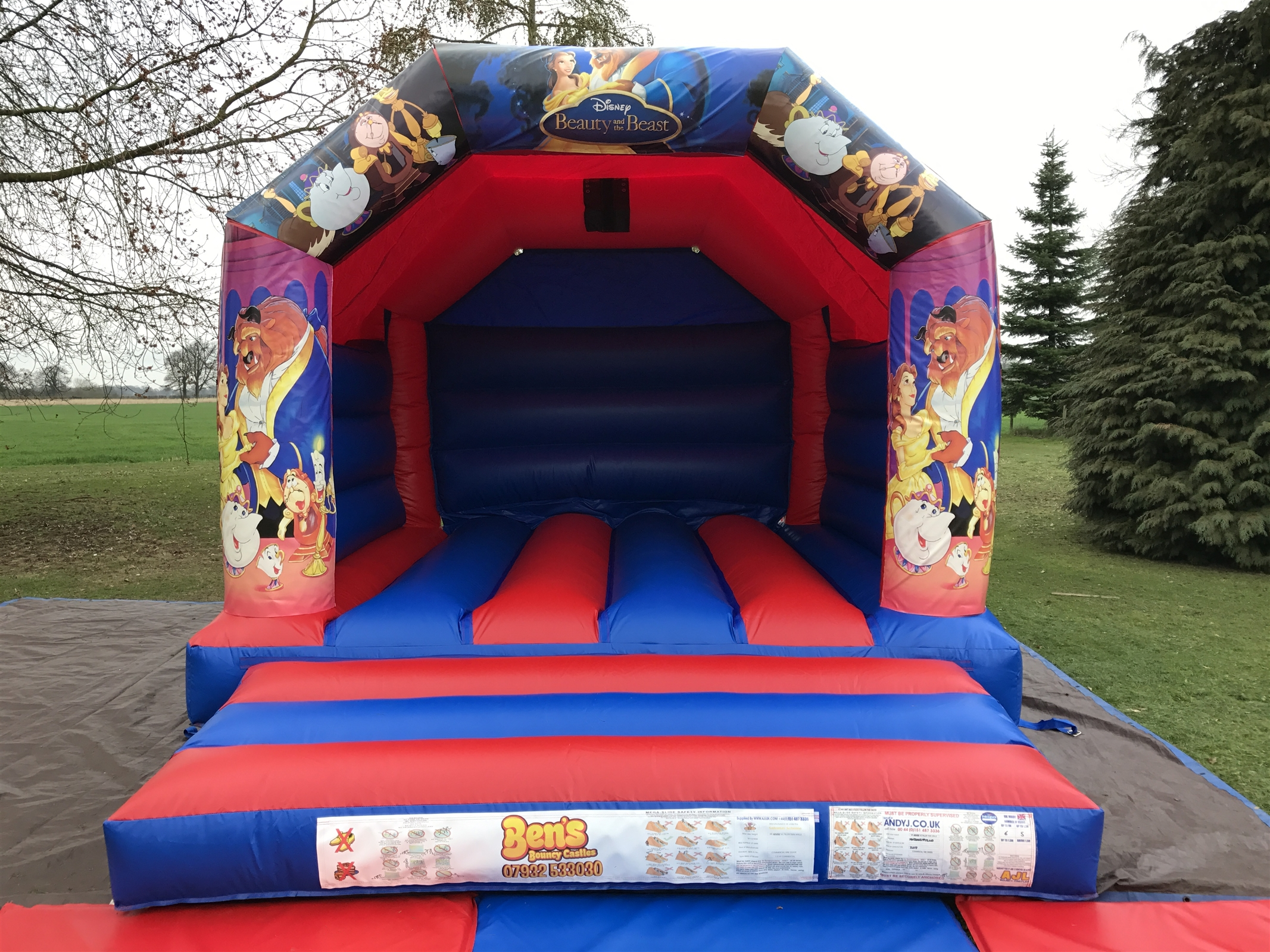 chair cover hire hemel hempstead vintage leather and ottoman bouncy castle castles