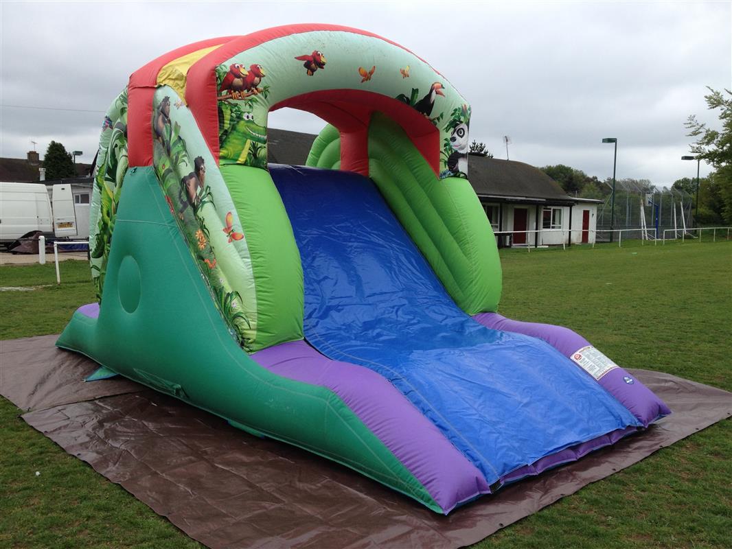 chair cover hire hemel hempstead baby activity argos air jungle slide bouncy castle castles